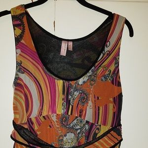 Anthropologie Sweet Pea Brand sleeveless Top xl